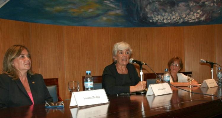 Susana Medina de Rizzo, Mónica Pinto y Cecilia P. Grosman