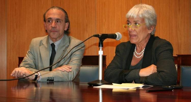 José Miguel Onaindia y Mónica Pinto