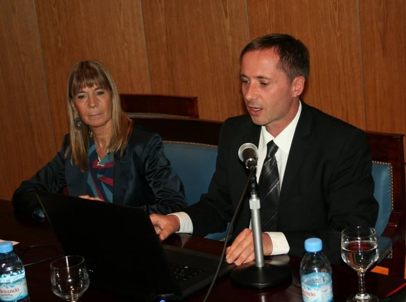 Silvia C. Nonna y Pascal Binczak