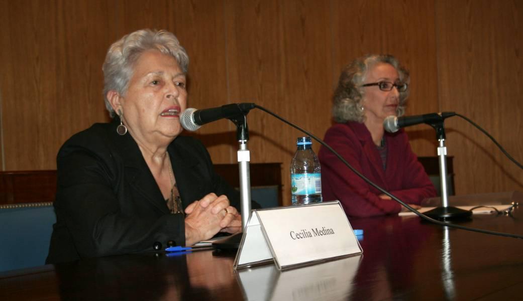 Cecilia Medina y Marta Lamas