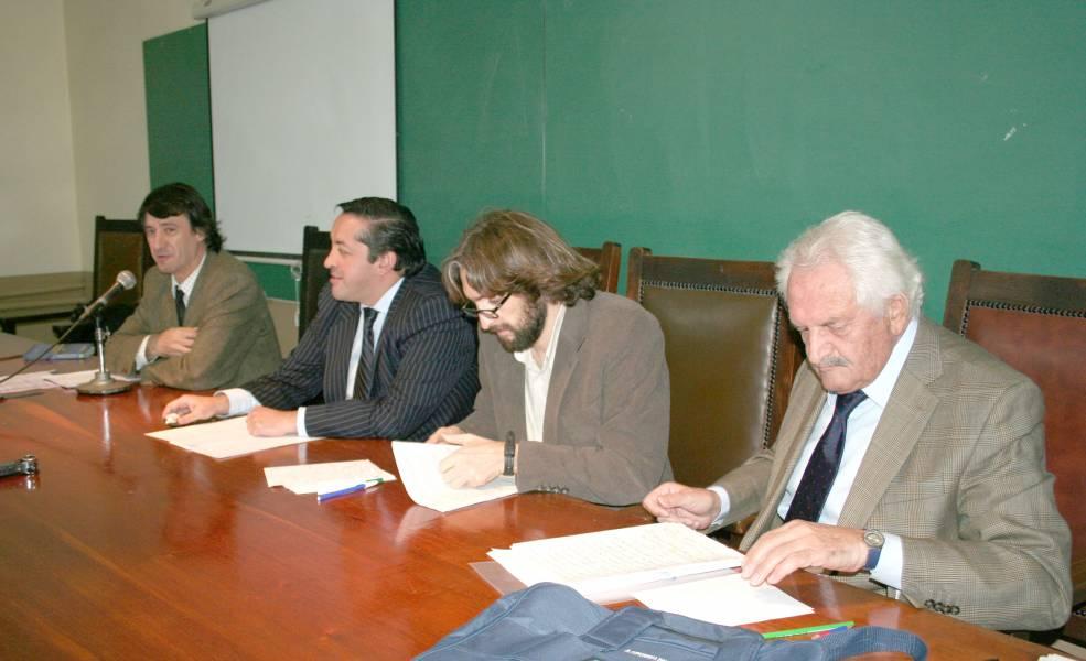 Daniel Pastor, Ramiro García, Ezequiel Malarino y Alberto Filippi