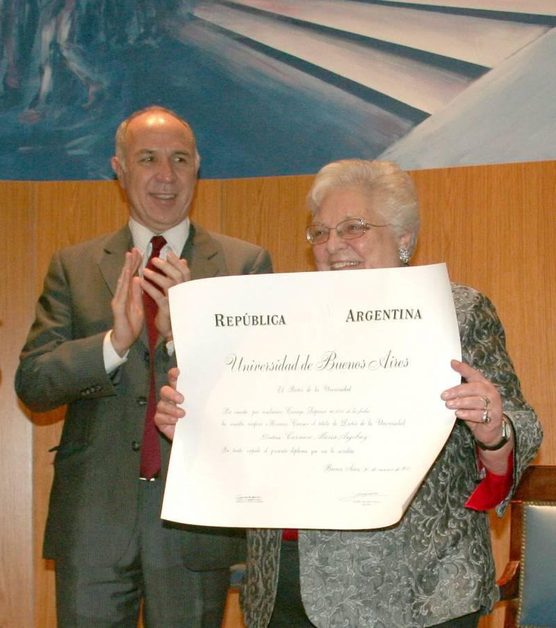 Ricardo L. Lorenzetti y Carmen M. Argibay
