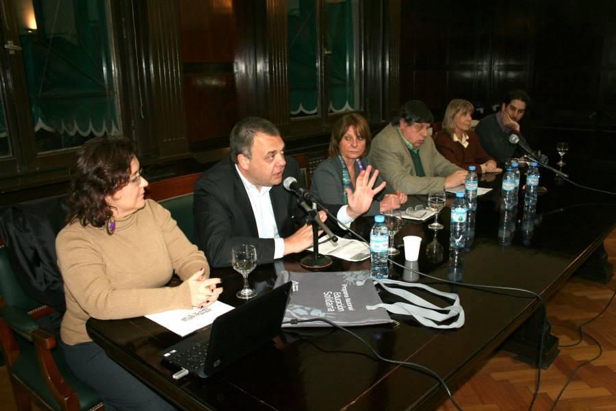 María José Alzari, Claudio J. Lutzky, Ana María Balaszczuk, Marcelo López Alfonsín, Silvia Nonna y Pablo Lumerman