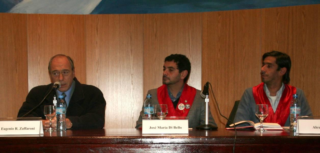 Eugenio R. Zaffaroni, José María Di Bello y Alex Freyre
