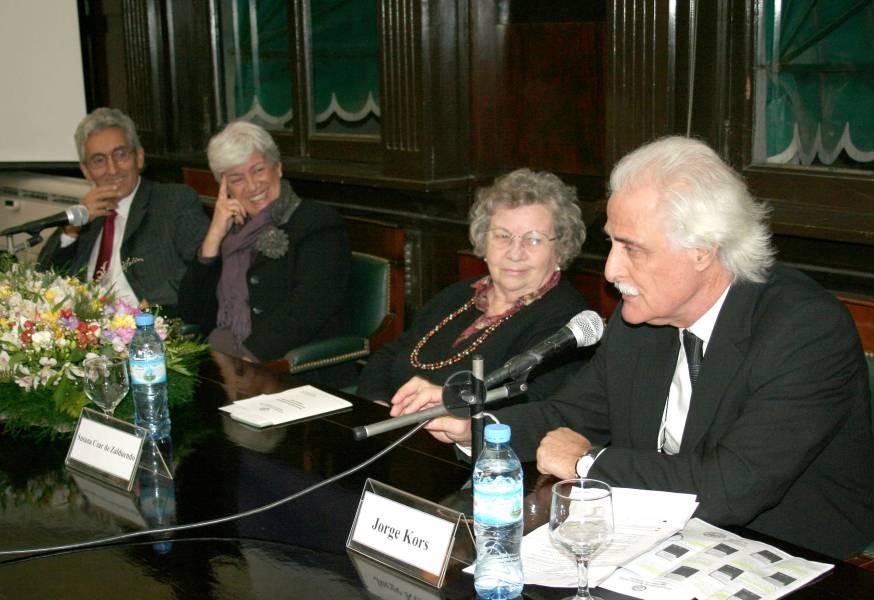 Carlos M. Correa, Mónica Pinto, Susana Czar de Zalduendo y Jorge Kors