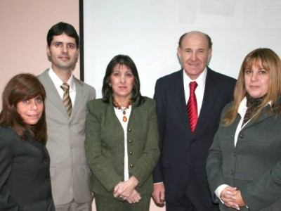 Susana Ciruzzi, Alberto Arbex, Gladys Guarrera, Julio Montero y Marisa Aizenberg
