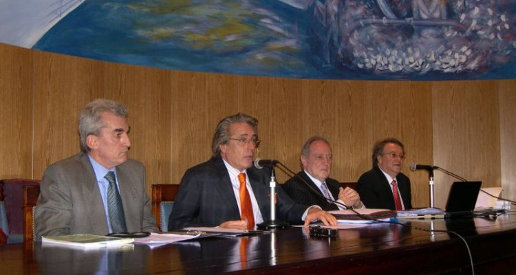Carlos E. Moro, Daniel R. Vítolo, Enrique Kiperman y Marcelo Haissiner