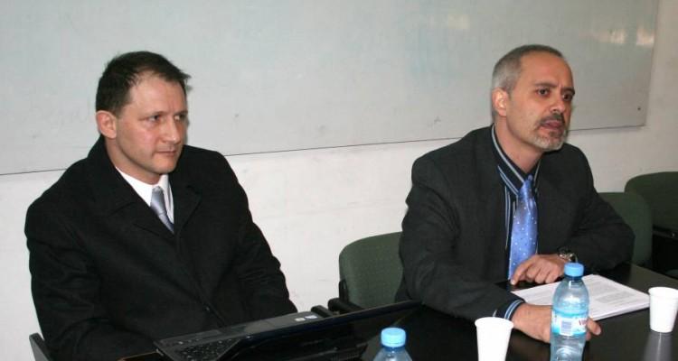 Patricio Masbernat y José Antonio Fernández Amor