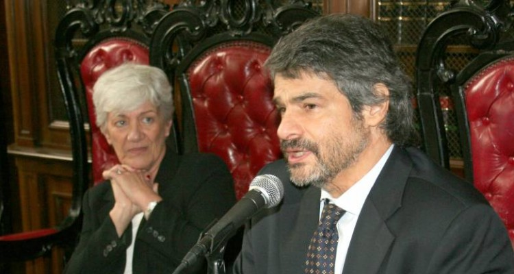 Mónica Pinto y Leandro Vergara