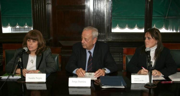 Sandra C. Negro, Jorge Iturriza y Marina García del Río