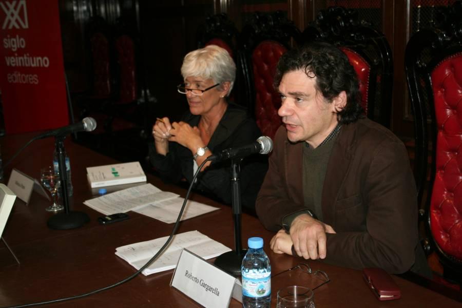 Mónica Pinto y Roberto Gargarella