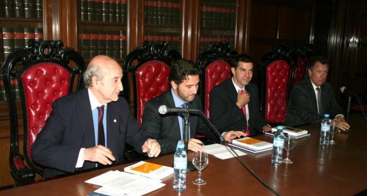 Eduardo Iglesias, Alberto Kleiman, Juan Manuel Urtubey y Alberto Dalla Via