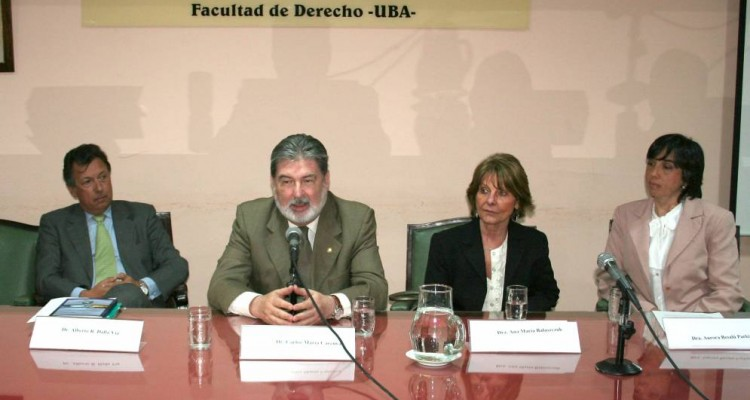 Alberto Dalla Via, Carlos M. Cárcova, Ana María Balaszczuk y Aurora Besalú Parkinson