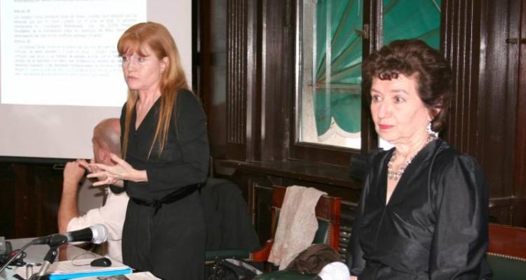 Eleonora Vallet y Olga Edda Ciancia