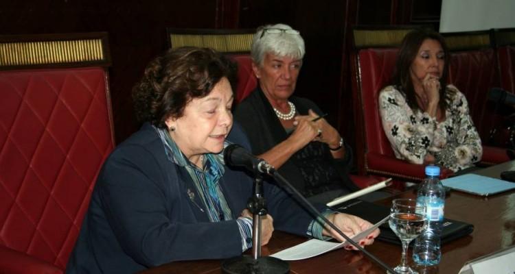 Stella Maris Martínez, Mónica Pinto y Marisa Graham