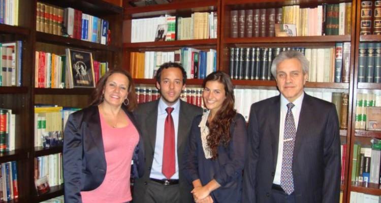 Norma E. Belixán, Marcos Villanueva, Florencia Primavera y Osvaldo Gozaíni