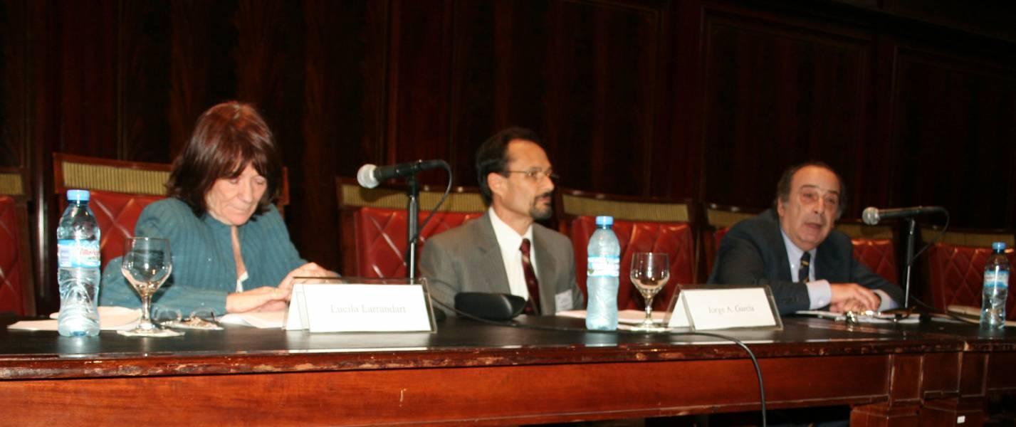 Lucila Larrandart, Jorge A. García y Gonzalo Fernández