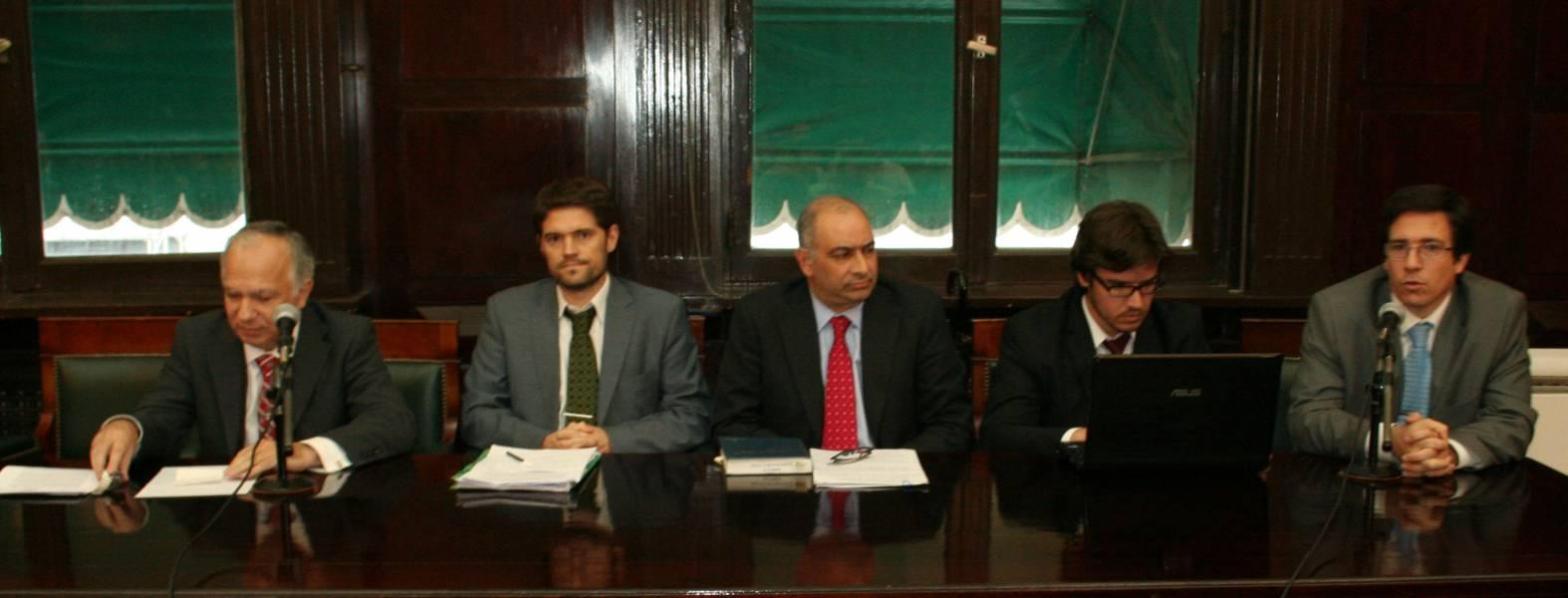 Omar Luis Díaz Solimine, José María Salgado, Julio Carlos Speroni (h), Francisco Verbic y Santiago Villagran