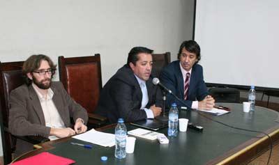 Ezequiel Malarino, Ramiro Garc�a y Daniel Pastor
