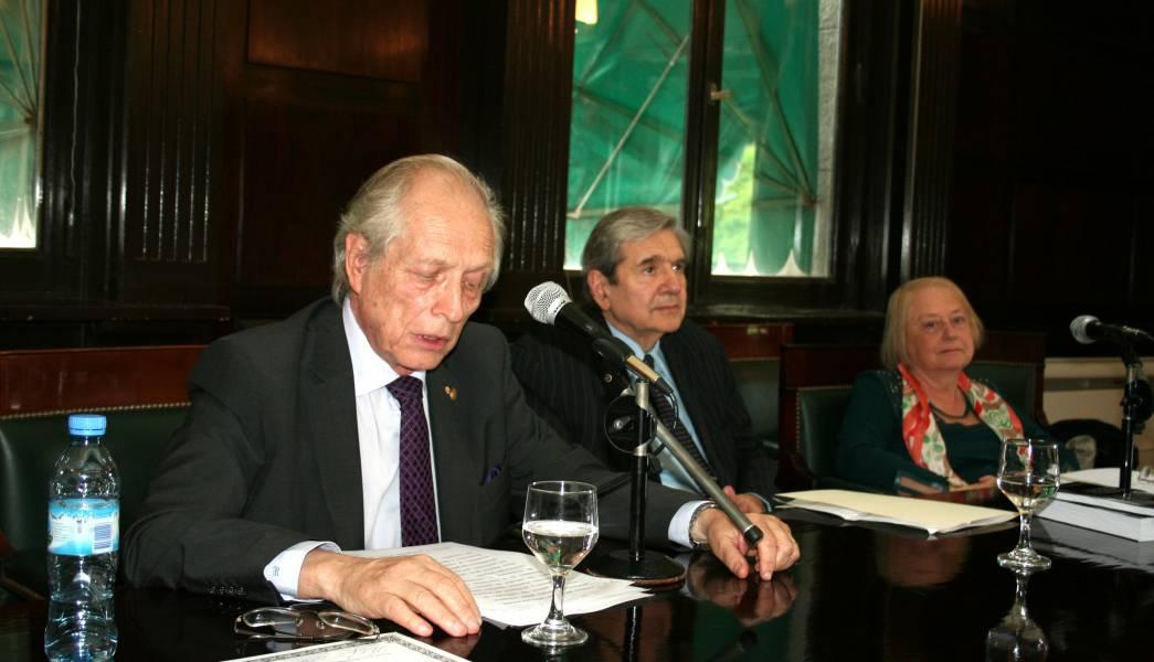 Ramón Pedro Yanzi Ferreyra, Alberto J. Bueres y María Rosa Pugliese