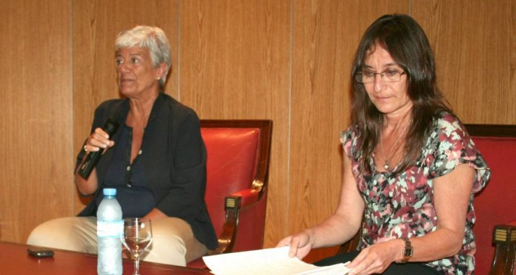 Mónica Pinto y Carolina Scotto