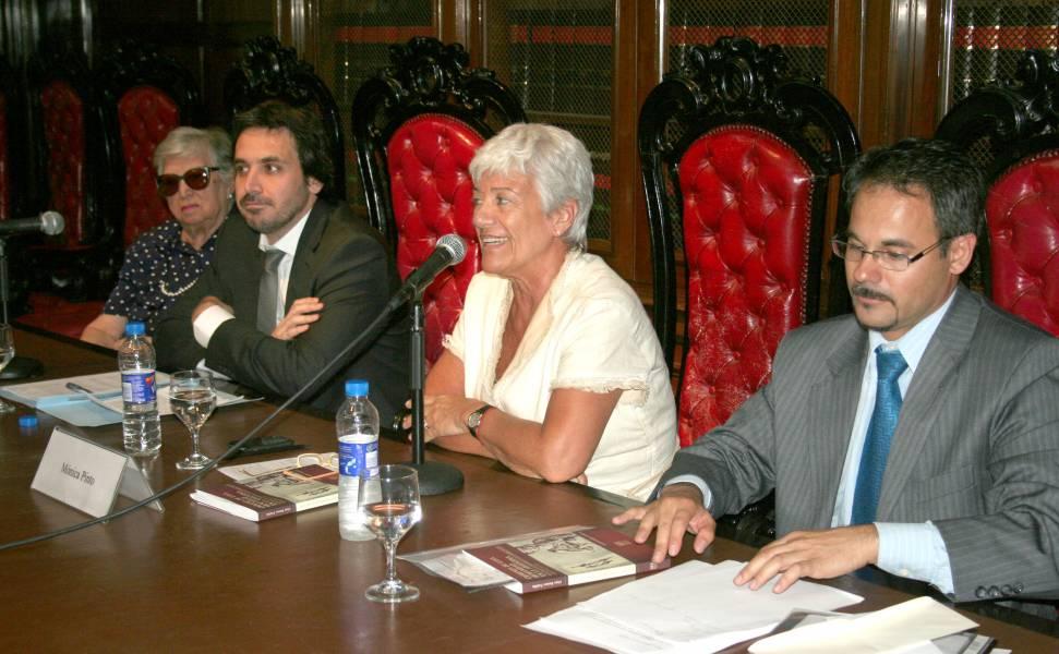 María Isabel Chorobik de Mariani, Alejo Ramos Padilla, Mónica Pinto y Fabián Mettler