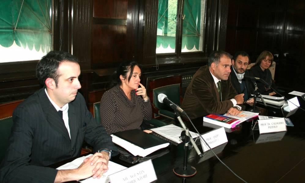 Agustín Fabbricatore, Andrea Mensa González, Calogero Pizzolo, Martín Cabrera y Patricia Lobato