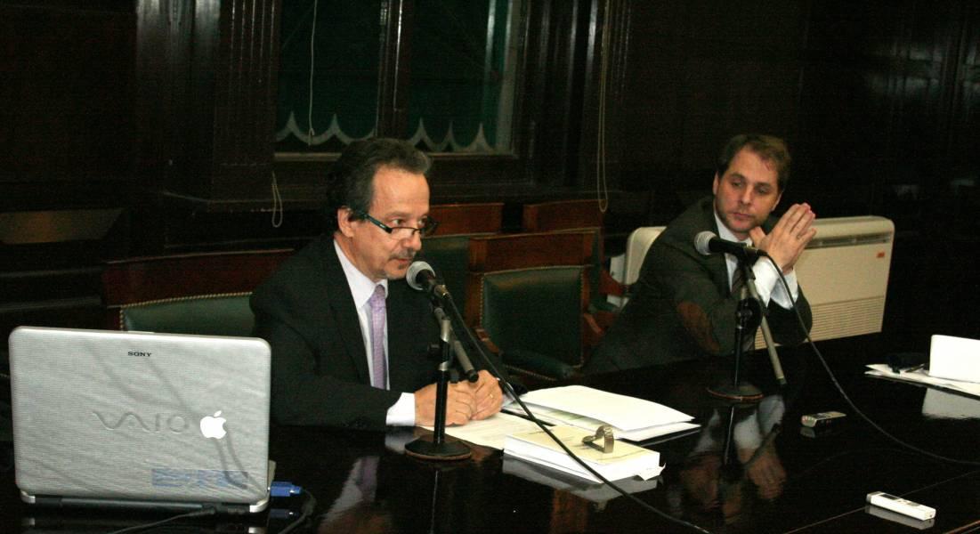 Jorge Douglas Price e Iván Tolnay