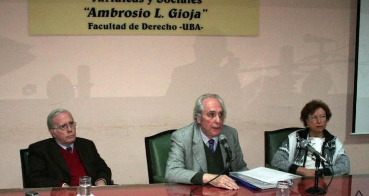 Tulio Ortiz, Eduardo Barbarosch y Lidia Bardone de Freire