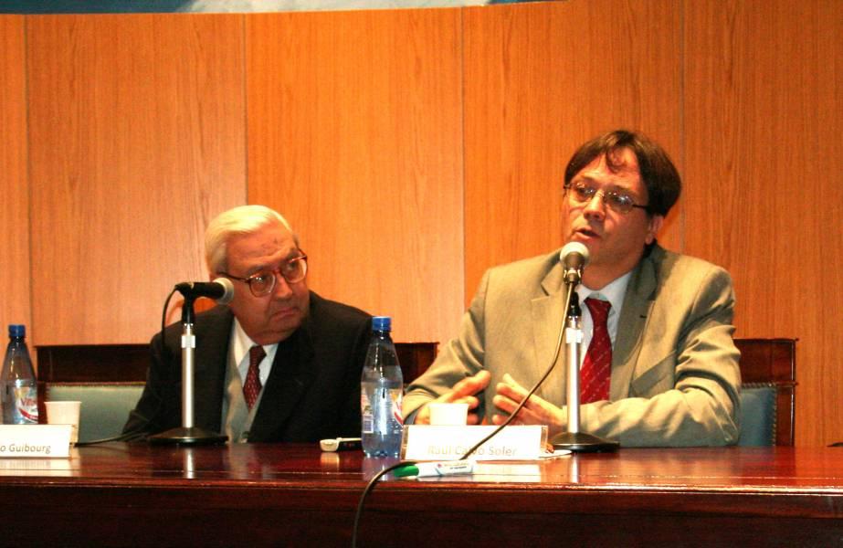 Ricardo A. Guibourg y Raúl Calvo Soler