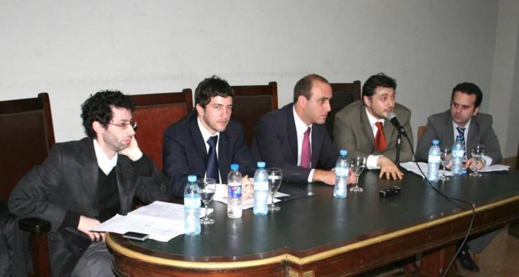 Diego Freedman, Guido J. Dubinski, Alberto Spota (h), Enrique Alonso Regueira y Ariel Cardaci Méndez