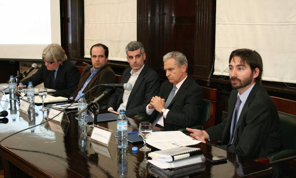 Marcelo D'Amore, Lucas Barreiros, Federico Lavopa, Alfredo Chiaradia y Facundo Pérez Aznar