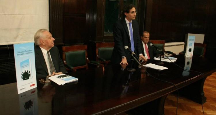 Héctor Alegría, Rodrigo Luchinsky y Eduardo Favier Dubois