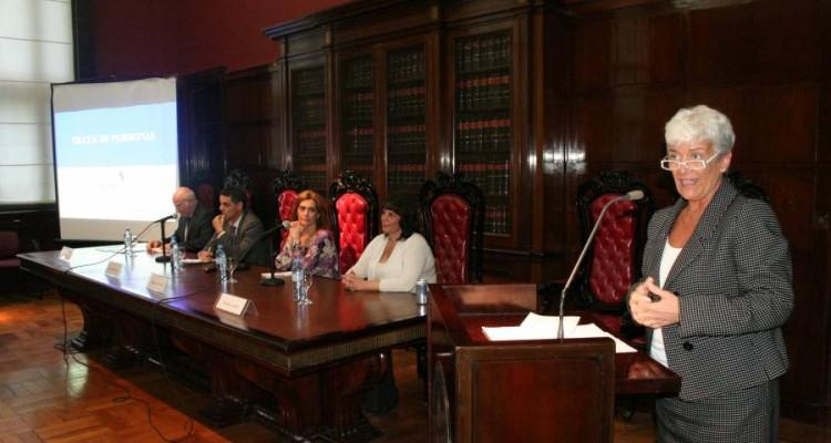 Mario Ganora, Marcelo Colombo, Fernanda Gil Lozano, Mercedes Assorati y Mónica Pinto