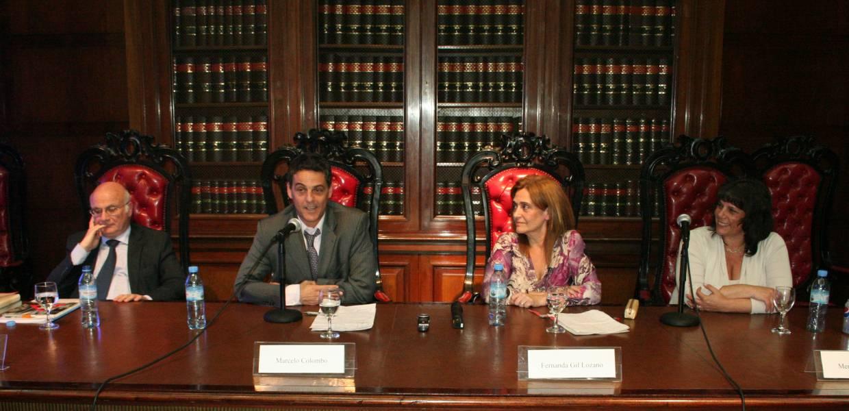 Mario Ganora, Marcelo Colombo, Fernanda Gil Lozano y Mercedes Assorati