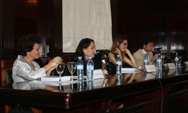 María Susana Najurieta, Nieve Rubaja, Marisa Herrera e Ignacio Goicoechea