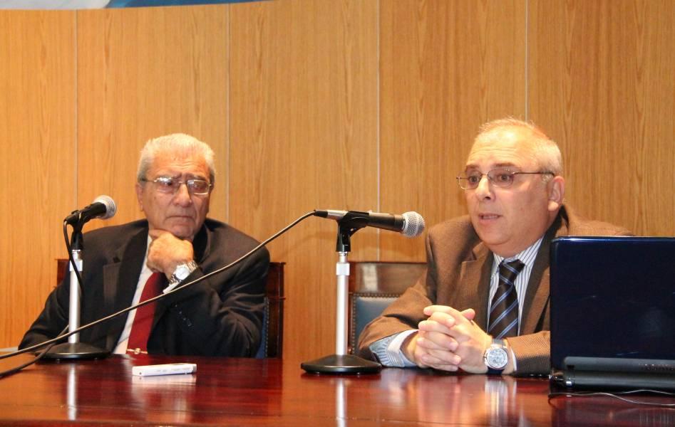 Rolando Chirico y Horacio Spector