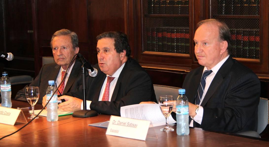 Mariano Grondona, Edgardo Costa y Daniel Sabsay