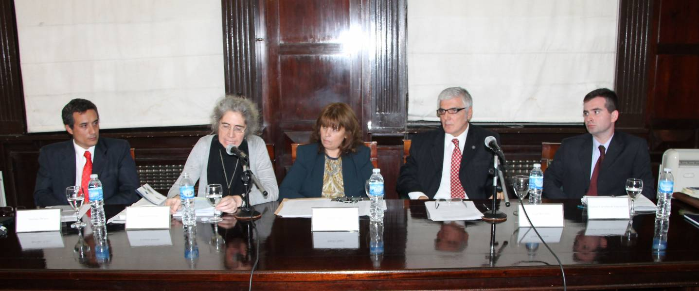 Santiago Deluca, Lorenza Sebesta, Sandra C. Negro, Jorge Bercholc y Raphael Carvalho de Vasconcelos