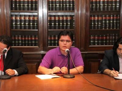 Augustus Marinho Bilac, Jaime León Arcila Rueda y Ricardo Rabinovich-Berkman