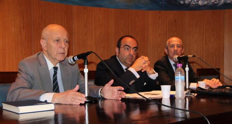 Mario Folchi, Massimo Deiana y Diego E. Chami