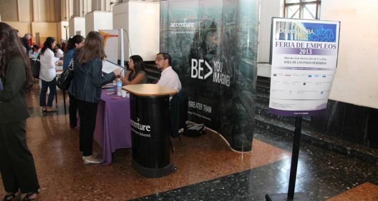 Feria de empleos de la Facultad de Derecho 2013