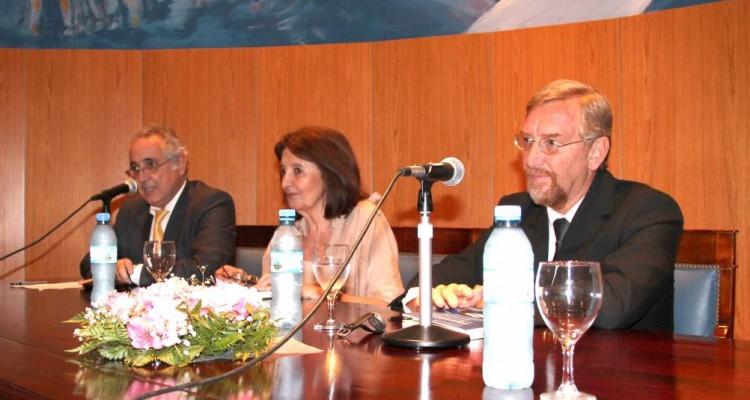 Guillermo Ranea, Susana Cures y Manuel Álvarez-Trongé