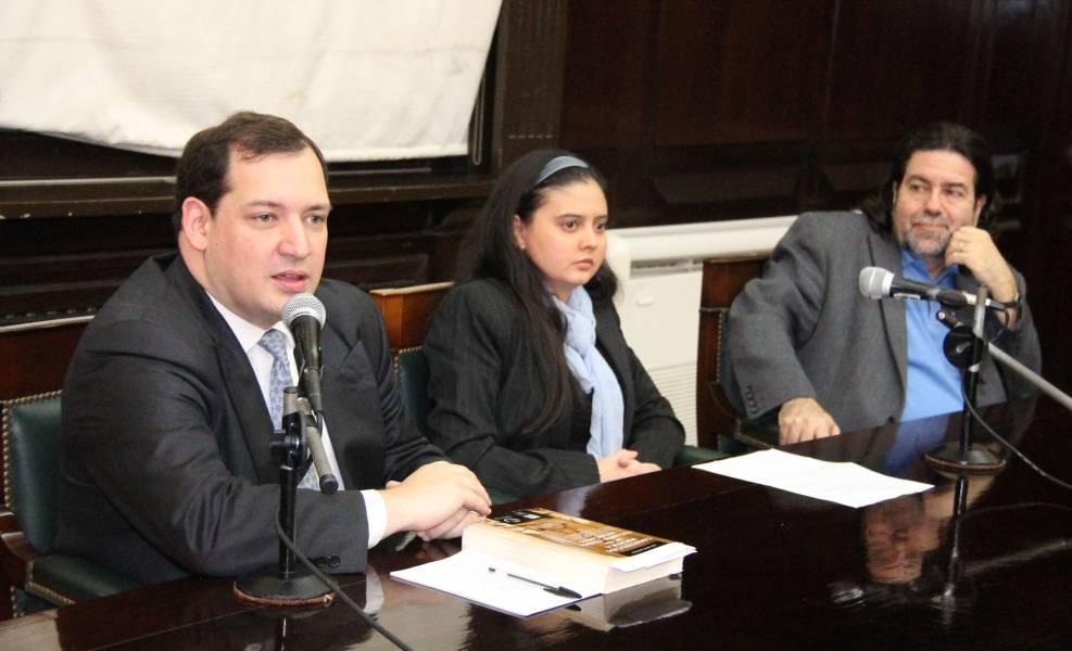 Raúl Pérez Johnston, Carla Ledezma Castro y Ricardo Rabinovich-Berkman