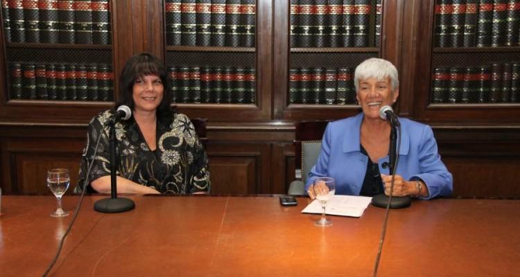 Mercedes Assorati y Mónica Pinto