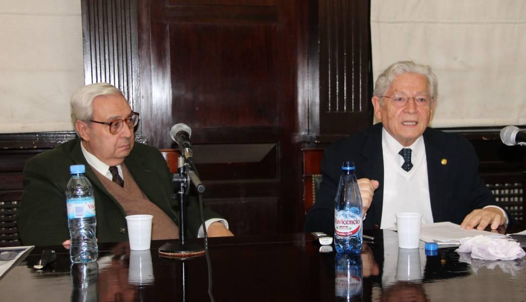 Ricardo A. Guibourg y Luiz Fernando Coelho