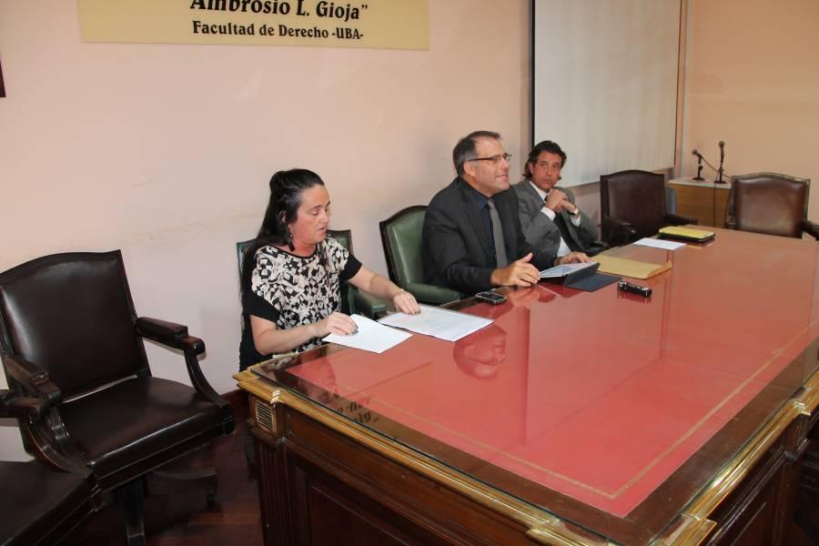 Andrea Mensa González, Calogero Pizzolo y Víctor Ibañez Rosaz