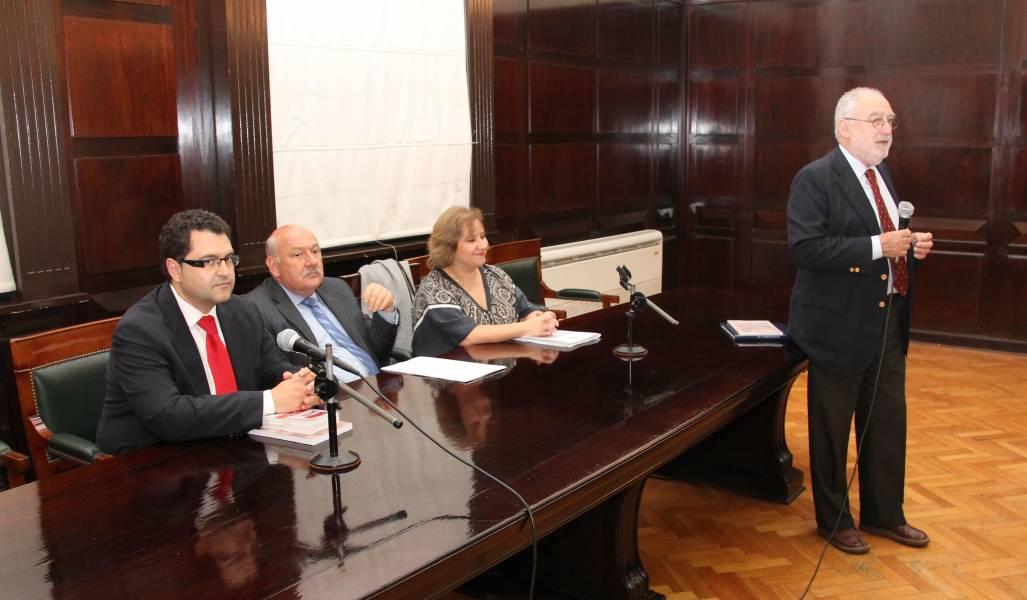 Carlos Aránguez Sánchez, Eduardo López Palomero, María Teresa Díaz Aznarte y Mario Ackerman