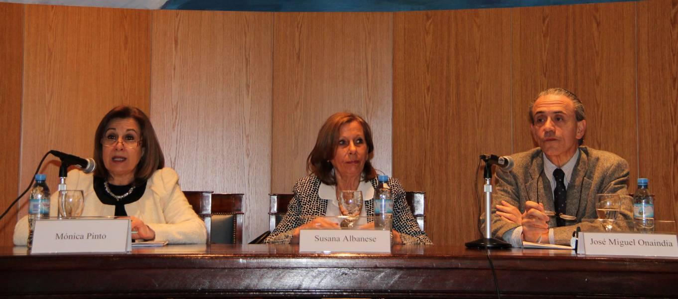 Adelina Loianno, Susana Albanese y José Miguel Onaindia