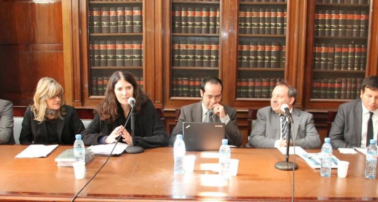 Alberto R. Dalla Via, Mariela Morales Antoniazzi, Laura Clérico, Manuel Góngora Mera, Guillermo Treacy y Walter Lara Correa
